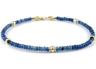 Bracciale Zaffiri Blu
