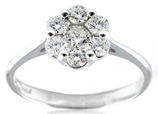 Anello in oro con diamanti